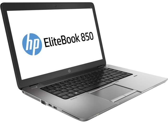 "HP Elitebook 850 G1 15,6"" I5-4300U 8 GB RAM 120GB SSD Windows 10 Pro"